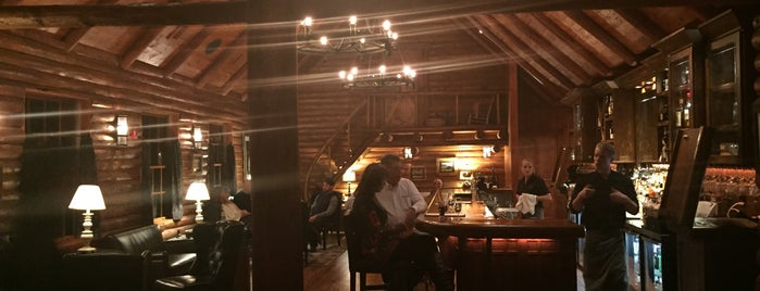 Ranch House Restaurant & Saloon is one of F&W's Coziest Restaurant.