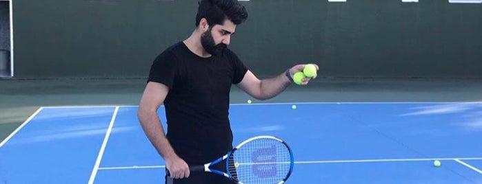 KTÜ Tenis Kortu is one of Locais curtidos por Dilara.