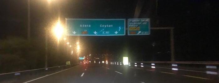 Adana Gaziantep Otoban is one of Locais curtidos por Davut.