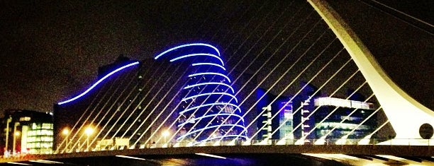 Samuel Beckett Bridge is one of The Ultimate Guide to Dublin.