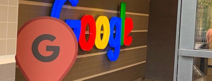 Google Europaallee is one of Lugares favoritos de Nieko.