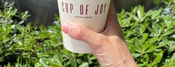 Cup of Joy is one of Coffee Shop.