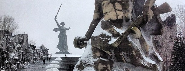 Mamayev Kurgan is one of Tempat yang Disukai Анна.