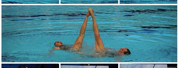 Дворец водных видов спорта is one of Locais curtidos por Nata.