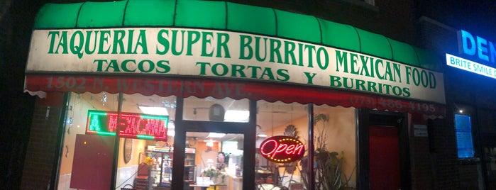 Taqueria Super Burrito is one of Every Taco in Chicago.
