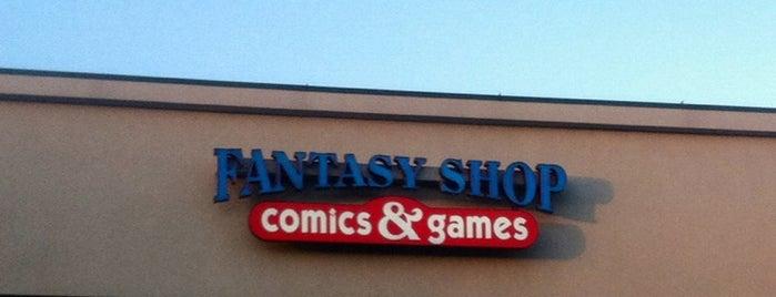 The Fantasy Shop is one of Emily : понравившиеся места.