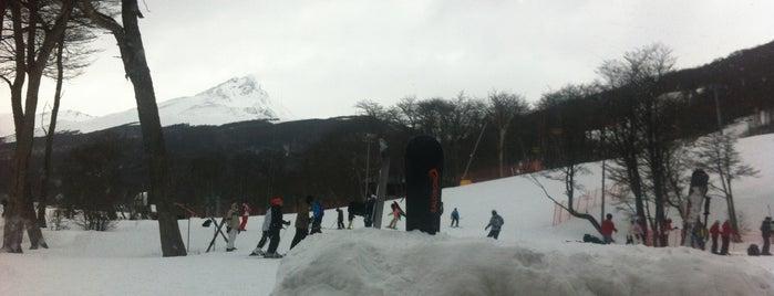 Snowpark Cerro Castor is one of Ushuaia.