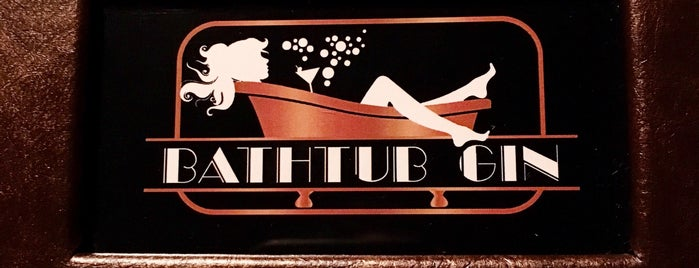 Bathtub Gin is one of Breather + Foursquare Guide to Chelsea.