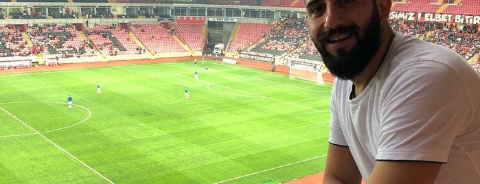 Yeni Eskişehir Stadyumu is one of Locais curtidos por Erkan.