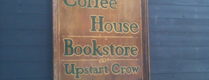Upstart Crow Bookstore & Coffeehouse is one of Posti che sono piaciuti a Grant.