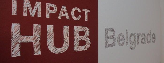 Impact Hub is one of Posti che sono piaciuti a rapunzel.