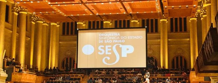 Sala São Paulo is one of Posti che sono piaciuti a Darliana.