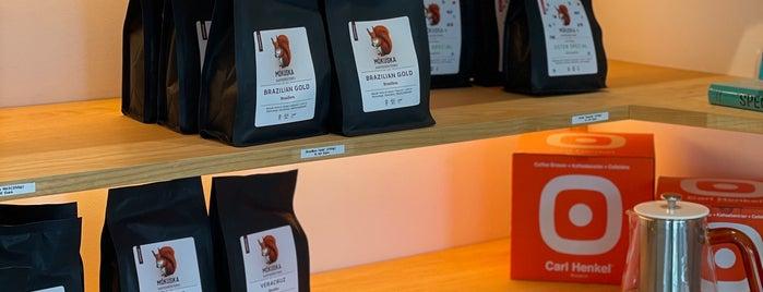 Mókuska Caffè is one of Europe specialty coffee shops & roasteries.