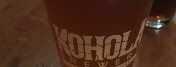 Koholā Brewery is one of Maui Eats and Stuff to do.