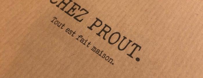 Chez Prout is one of Paris tronkil.