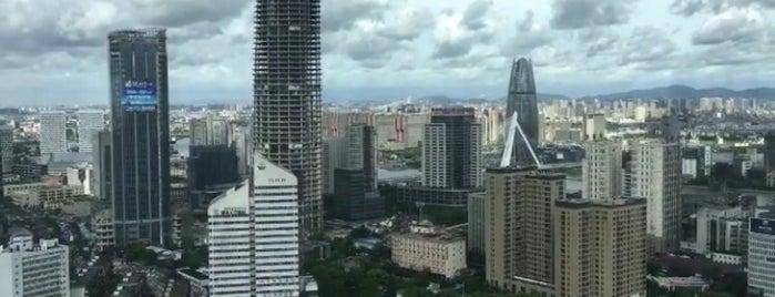 Ningbo Marriott 宁波万豪酒店 is one of Lugares favoritos de Worldbiz.