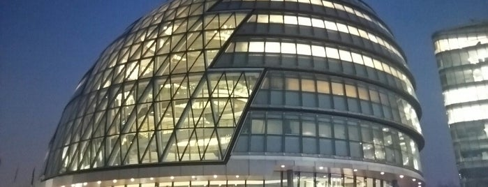 City Hall (Greater London Authority) is one of 建築マップ ヨーロッパ.