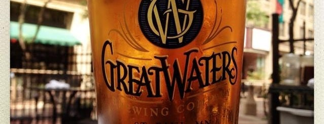 Great Waters Brewing Company is one of Tap Rooms / Breweries in the Greater MN Area.