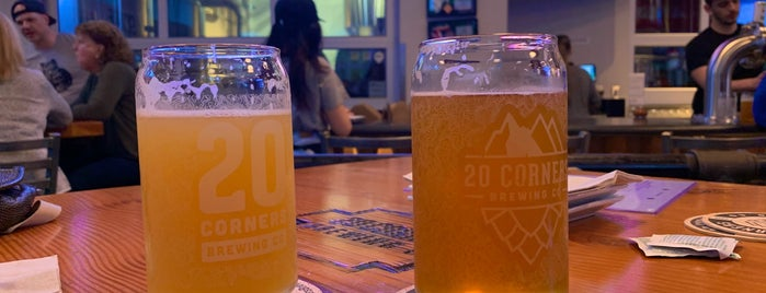 20 Corners Brewing is one of Places to try.