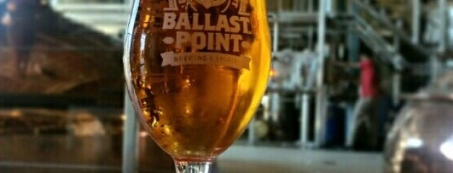 Ballast Point Brewing & Spirits is one of San Diego CA.
