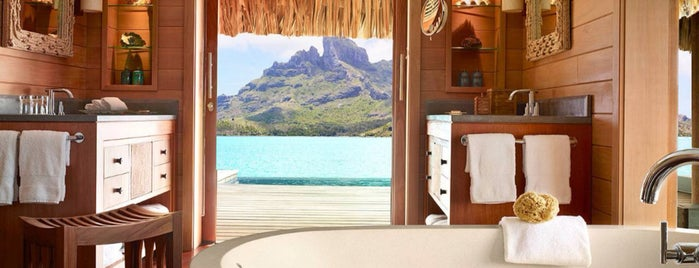 Four Seasons Resort Bora Bora is one of 🕊 Fondation: сохраненные места.