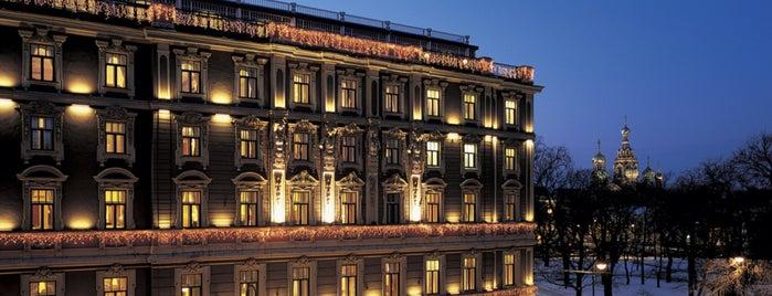 Гранд Отель Европа is one of 🕊 Fondation : понравившиеся места.
