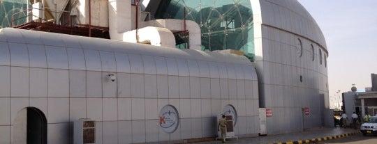 Khartoum International Airport (KRT) is one of Transport Hubs ✈️🚄.