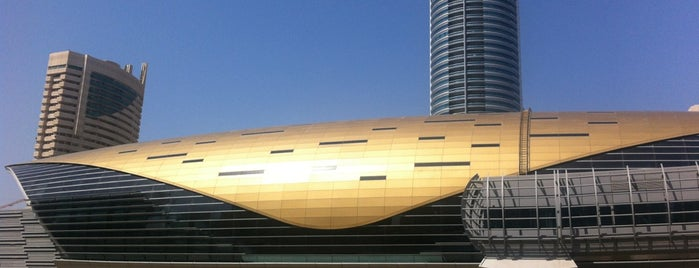 Jumeirah Lake Towers Metro Station is one of Must Visit Dubai #4sqCities.