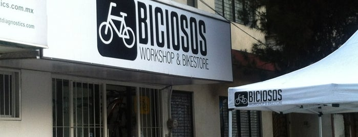 Biciosos Workshop & Bikestore is one of R : понравившиеся места.
