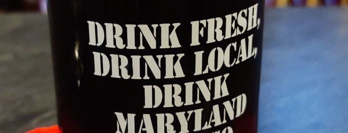 Maryland Beer Company is one of Delaware & Outskirts (MD & PA) Breweries.