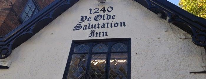 Ye Olde Salutation Inn is one of East Midlands.