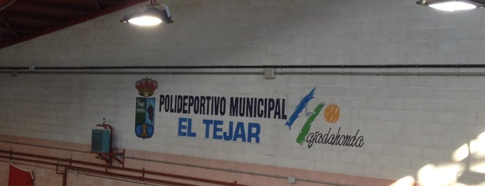 Polideportivo El Tejar is one of Enriqueさんのお気に入りスポット.