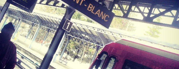 Gare SNCF de Chamonix-Mont-Blanc is one of Lugares favoritos de Justin.