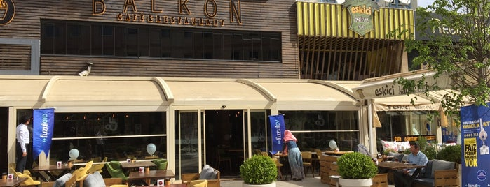 Balkon Cafe & Restaurant is one of Gaziantep.