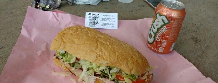 Storto's Deli & Sandwich Shoppe is one of สถานที่ที่ Tyler ถูกใจ.