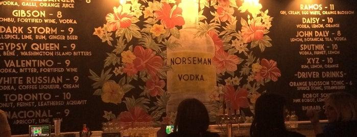 Norseman Distillery is one of Orte, die Matty gefallen.