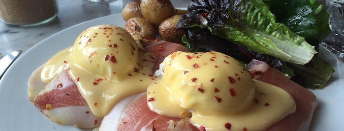 The Fat Hen is one of America's 50 Best Eggs Benedict Dishes.