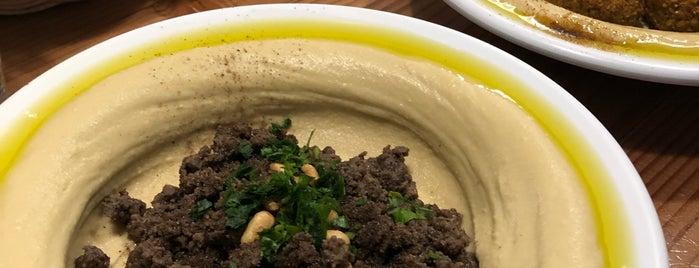 Aviv Hummus Bar is one of Locais salvos de Larissa.