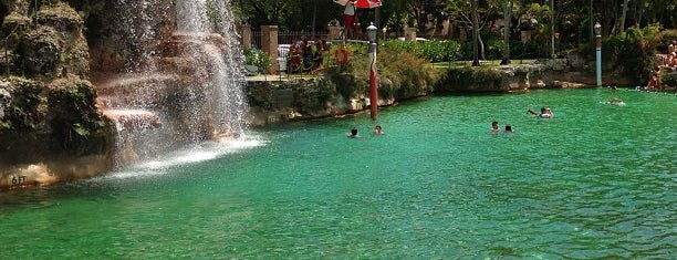 Venetian Pool is one of Pixie and Jenna in South Florida.