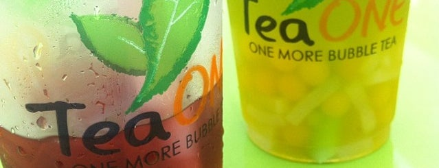 Tea One is one of Locais curtidos por Luiz.
