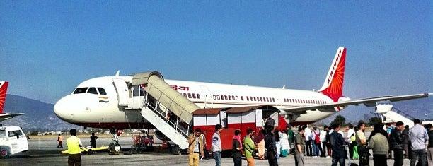 Tribhuvan International Airport (KTM)  त्रिभुवन विमानस्थल is one of Nepal.
