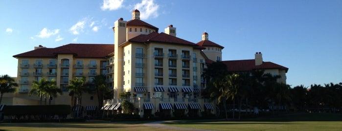 The Ritz-Carlton Golf Resort, Naples is one of Condé Nast Traveler Platinum Circle 2013.