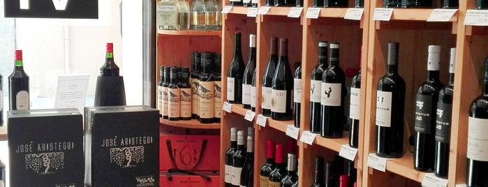D VI vinoteca is one of Vinos en Barcelona.