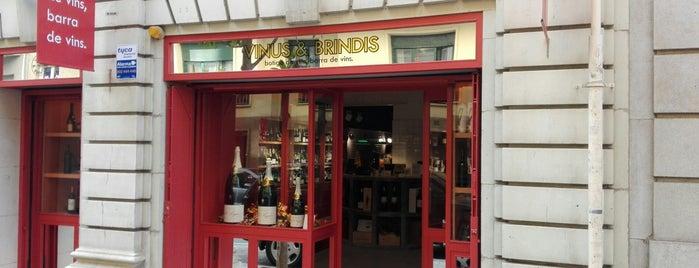 Vinus & Brindis is one of Barcelona voltants pendent.