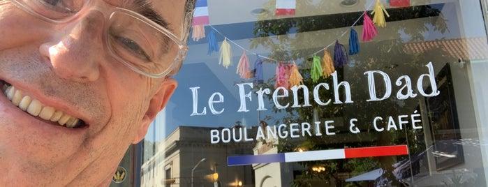 Le French Dad Boulangerie & Café is one of Lieux qui ont plu à Andrew.