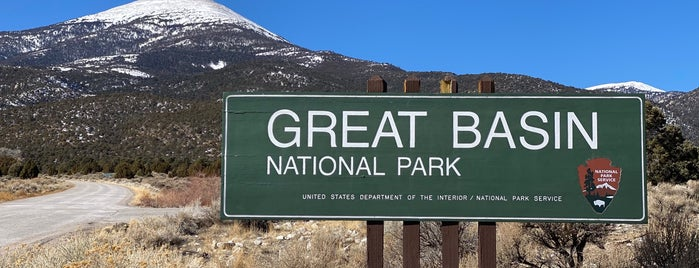 Great Basin National Park is one of Parks & Trails.