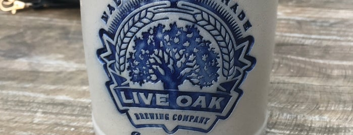 Live Oak Brewery is one of Austin.
