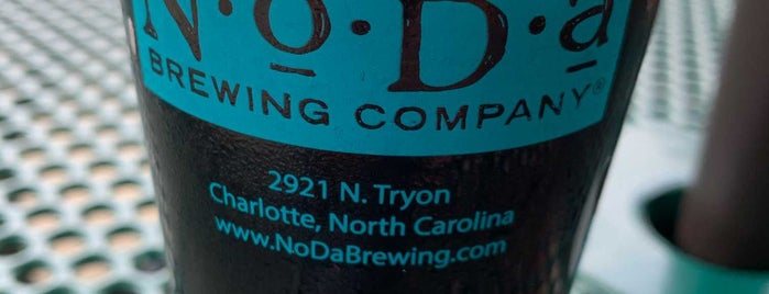NoDa Brewing Company North End is one of NC Craft Breweries.