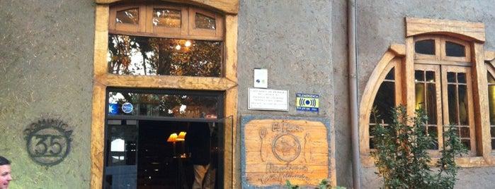 El Meson Nerudiano is one of Food & Fun - Santiago de Chile.