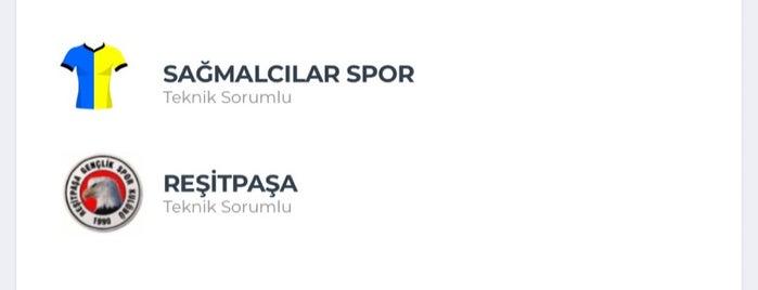 İBB Bayrampaşa Stadı is one of Tempat yang Disukai Çağrı.